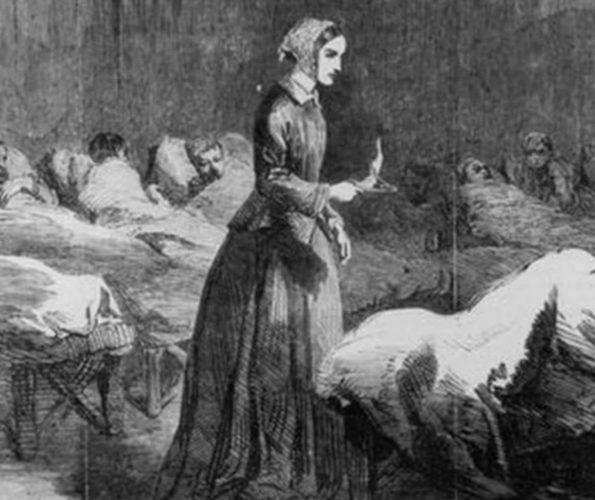 Florence Nightingale, Pflegeikone